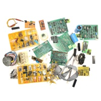 Box of 80s Electronics and Parts Hire