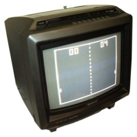 "TV & Video Props Sony KV-1400 14"" Trinitron TV (Charcoal)"