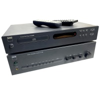 NAD Amplifier and CD Player Hire