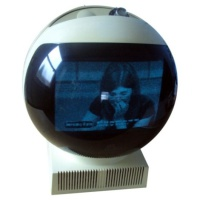 TV & Video Props JVC Videosphere - Classic 70's TV