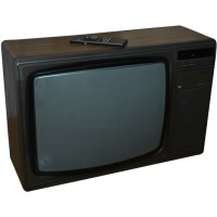TV & Video Props Pye 5350 Television - Wood Effect Case