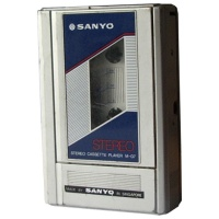 Sanyo M-G7 Cassette Player