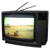TV & Video Props Grundig Super Colour TV