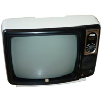 TV & Video Props Sanyo 12-T280 Portable Television