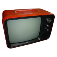 Hitachi Red Portable TV - F-54G-311 Hire