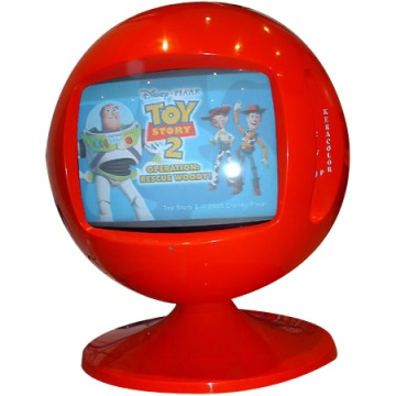Keracolor Sphere TV - Classic 70's Ball Television