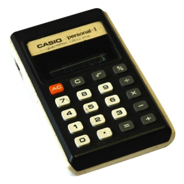 Casio Personal-I Electronic Calculator