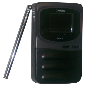 Casio TV-100 Portable Television