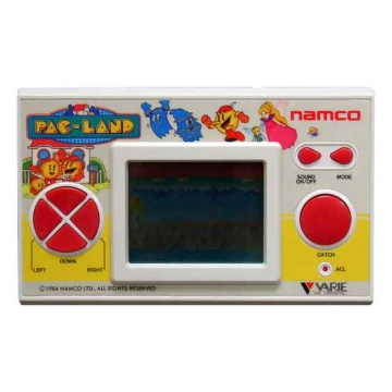 Namco Pac-Land 80's Hand Held Games Console