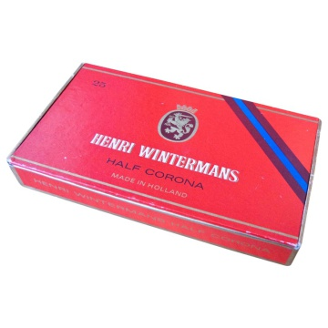 Henri Wintermans Half Corona Cigar Box