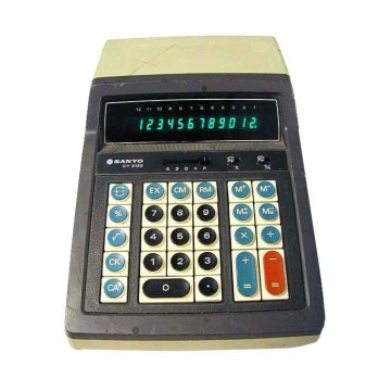 Sanyo CY 2132 Electronic Calculator