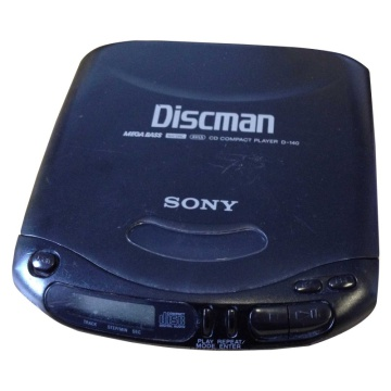 Sony Discman D-140 CD Compact Player