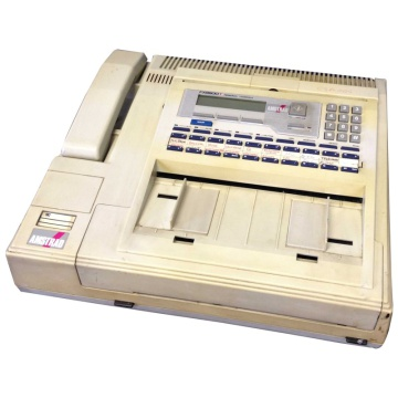 Amstrad FX9600T Facsimile Machine and Integral Telephone