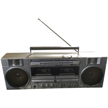 Sharp GF 500 E Boom Box