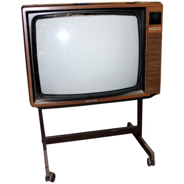 Grundig Super Colour - Wood Effect TV