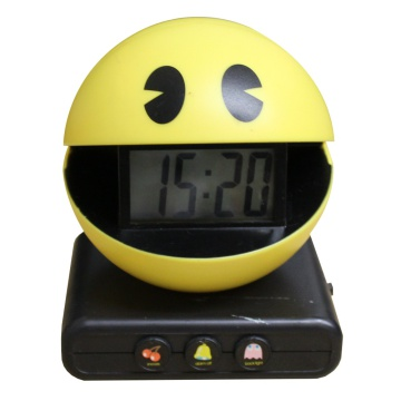 Pac-Man Digital Clock