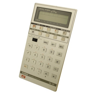 Casio ML-90 Melody Clock Calculator