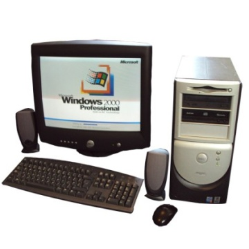 Year 2000 PC Computer - Dell 8100
