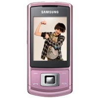 Samsung C3050 Mobile Phone - Champaign Pink