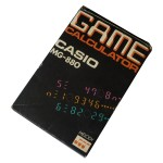 Picture of Casio MG-880 Game Calculator