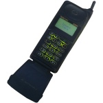Picture of Motorola Micro TAC International 8400 Mobile Phone