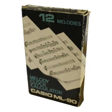 Picture of Casio ML-90 Melody Clock Calculator