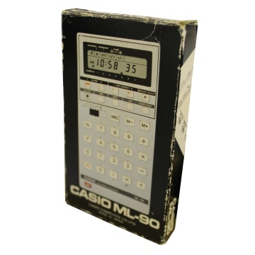 Image of Casio ML-90 Melody Clock Calculator