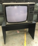 Image of Mitsubishi Colour Wooden Case TV Receiver